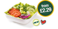 Salads from £2.29